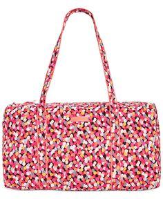 Vera Bradley Large Duffle Bag -I LOVE this