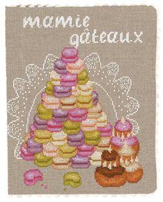 Book Cover / Cross stitch < No.5089 Mamie Gateaux >  -- Le Bonheur des Dame --