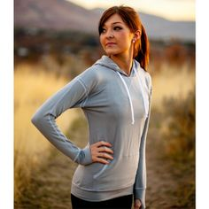 So cute and comfortable!  Love this Albion Fit Signature Hoodie from AlbionFit.com!