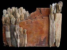 Marc Bourlier - Artiste Peintre, Sculpteur - Oeuvres et Sculptures, Bois Flotté, Peintures - Art Singulier // Artist, Sculptor - Drywood, Singular Art