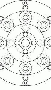 Circular Mandalas 1 page   AMIND
