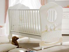 NEU: Babybett / Babywiege Zwei Teddybären (64 x124 cm)