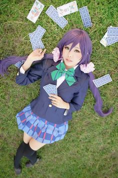 Title : Love Live! School Idol Project Character : Nozomi Tojo Coser : Ely Cosplay