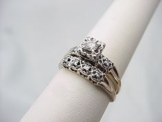 Image result for engagement rings 1960