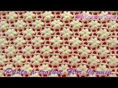Today you will know how to easily crochet stunning Jasmine Flower stitch. This amazing stitch will let you design perfect decoration, ponchos, dress, blankets, Crochet Flor, Crochet Diagram, Crochet Poncho, Crochet Videos, Baby Blanket Crochet, Free Crochet, Crochet Stitches Patterns, Crochet Designs, Stitch Patterns