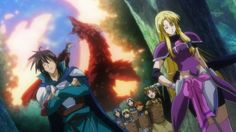 The Legend of Legendary Heroes - No problem here just ignore that dragon.