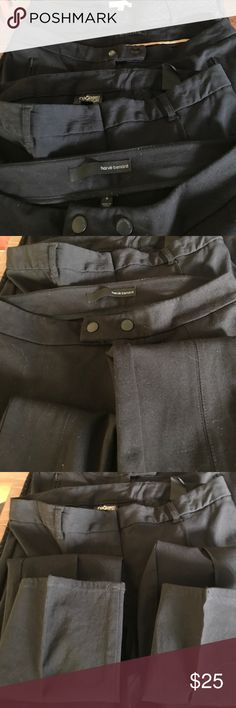Bundle of 4 black slacks. VG condition size 4 A bundle of 4 pairs of black slacks (3 or solid 1 with muted dots). All size 4 Lila Rose/Audrey&Celine/Nicole Miller/harve benard Pants Skinny