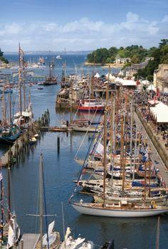 Le port-musée de Douarnenez. | Finistère Bretagne | #myfinistere
