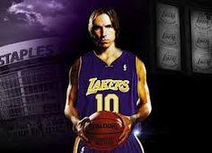 Steve Nash Lakers #10