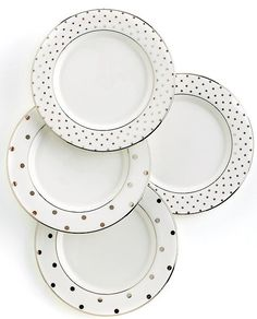 if you are planning on registering for fine china? it doesn't get much cuter than this polka dot Kate Spade Collection #katespade #weddingchickspicks #macys http://www.macys.com/registry/wedding/catalog/product/index.ognc?ID=120938&cm_mmc=BRIDAL-_-CARAT-_-n-_-WCPinterest