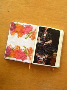 an old scrapebook
