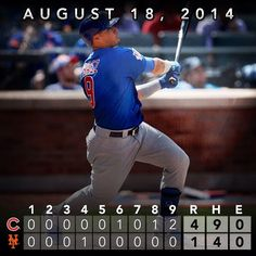 Anthony Rizzo hits solo shot, Javier Baez launches 2-run blast in #Cubs' win over Mets. #Padgram