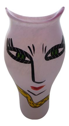 Ulrica Hydman Vallien for Kosta Boda Vase on Chairish.com