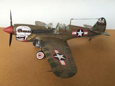 Curtiss P40N Burma Banshees : Maquette Hasegawa 1/32