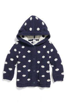 Nordstrom Baby Polka Dot Bouclé Sweater(Baby Girls)   Nordstrom