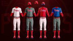 MLB Jerseys Redesigned on Behance Mlb Uniforms, Baseball Uniforms, Mlb Teams, Behance, Tops, Concept, Sports