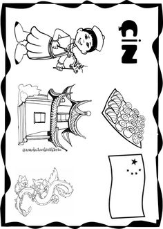 turizm haftası okulöncesi Worksheets, Activities For Kids, Kindergarten, Preschool, Projects To Try, Decoration, Drama, Flag, Snoopy