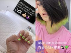 Demi Lovato dyed her hair bright green to hop on the latest fall hair trend—here's how you can get the look at home. Fall Hair Colors, Hair Dye Colors, Fall Hair Trends, Geometric Nail Art, Latest Hair Color, Damaged Hair Repair, Permanent Hair Color, Organic Coconut Oil, Hair Health