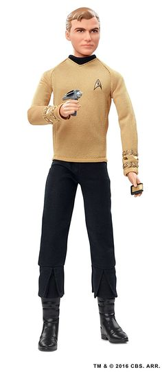 Barbie's Ken as Star Trek's Captain Kirk Doll
