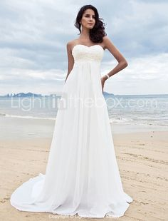Abito da sposa spiaggia