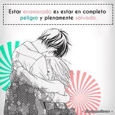 Estar enamorado #ShuOumaGcrow #Anime #Frases_anime #frases