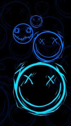 Glitch Wallpaper, Dark Wallpaper Iphone, Graffiti Wallpaper, Phone Screen Wallpaper, Graphic Wallpaper, Emoji Wallpaper, Tumblr Wallpaper, Black Wallpaper, Galaxy Wallpaper