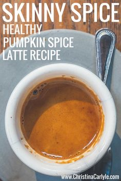 This Healthy Pumpkin Spice Latte Recipe is Dairy Free, Low Sugar and tastes great. This Healthy Pumpkin Spice Latte Recipe takes 5 minutes to make. Pumpkin Spiced Latte Recipe, Pumpkin Spice Coffee, Spiced Coffee, Pumpkin Drinks, Sugar Pumpkin, Healthy Pumpkin, Coffee Recipes, Drink Recipes, Low Calorie Recipes