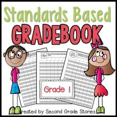 Common Core Standards Based Gradebook First grade: Has your school gone to a standards-based report card aligned with the Common Core?  Have you had trouble figuring out how to keep track of how all your students are doing on each of the standards?  I created this Standards Based Gradebook, matching all Common Core standards for first grade, just for that purpose.