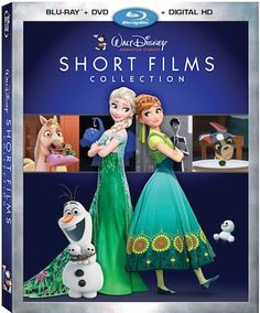 Disney Animation Studios Short Films Collection on Blu-Ray 8-18 - Get ready for the biggest and best short films collection from Disney for 2015!