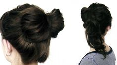 HAIR HOW-TO: The Bow-Tail  #sephora (her head turning back and forth is annoying! - but great tutorial nonetheless)