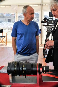 Director Stijn Coninx behind the Optimo Style 25-250