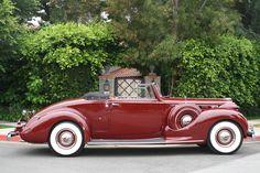 ◆1939 Packard◆ Convertible, Art Deco Car, Automobile, Vintage Art Prints, Vintage Trucks, Old Cars, Motor Car, Cars Motorcycles, Antique Cars