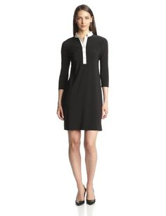 Nine West Women's 3/4 Bell Sleeve Shift Dress, Black, 2 Nine West,http://www.amazon.com/dp/B00EJ61MSU/ref=cm_sw_r_pi_dp_Oo.jtb1609S8XRMB