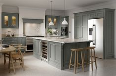 """All the jargon that comes with kitchen design can sometimes be a bit overwhelming to a newcomer. Take """"in-frame"""", for example. You've probably seen that used plenty of times while searching for a new kitchen, but do you know what it means?  To summarise, a kitchen door that's inset within a frame fitted to the front of a kitchen unit is """"in-frame"""". It's literally in the frame! It's a timeless look known for quality, strength and long-term durability thanks to its reputation for fine…"""