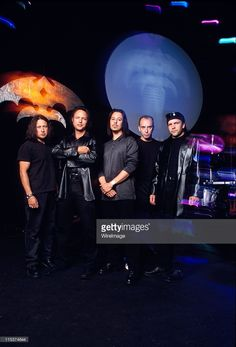 Queensryche during Queensryche Photo Session at Seattle in Seattle, Washington, United States.