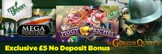 Get an exclusive £5 no deposit bonus at Mr Green Casino to play Net Entertainment slots – find out how to claim below as well as the 100% welcome bonus up to £250: http://www.casinomanual.co.uk/exclusive-5-no-deposit-bonus-play-net-entertainment-slots-mr-green-casino/
