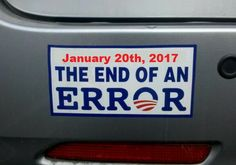 The end of an error... #obama