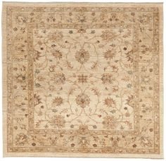 Pakistani Hand Knotted Rug - x Hand Knotted Rugs, Woven Rug, Square Rugs, Nursery Rugs, Traditional Rugs, Small Rugs, Grey Rugs, Rugs Online, Floor Rugs