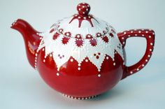 Absolutely adorable. Support an artisan and buy this for me! Nothing is cuter than red/white polka dots.