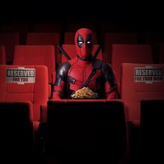 """Invest today for a brighter tomorrow. #Deadpool tickets are on sale now! Link in bio."""