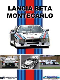 Lancia Beta Montecarlo Turbo | Ulrich Dukar | Pinterest