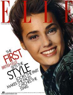 yasmin lebon, cover 80s, amber lebon, magazin cover, 1985 ell, 1980s model, lebon cover, le bon, classic supermodel