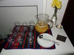 PSYCH PARTY - bebida (ponche de abacaxi)!
