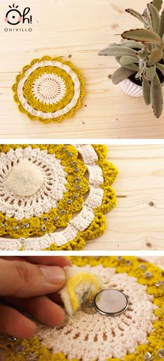 Nuevo electrotapete - Another light up doily - pattern diagram from this pin:  http://www.pinterest.com/pin/142144931961699371/