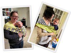 Tutorial: Pouch Sling Baby Carrier - Rae Gun Ramblings