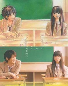 Kimi ni Todoke manga vs live action
