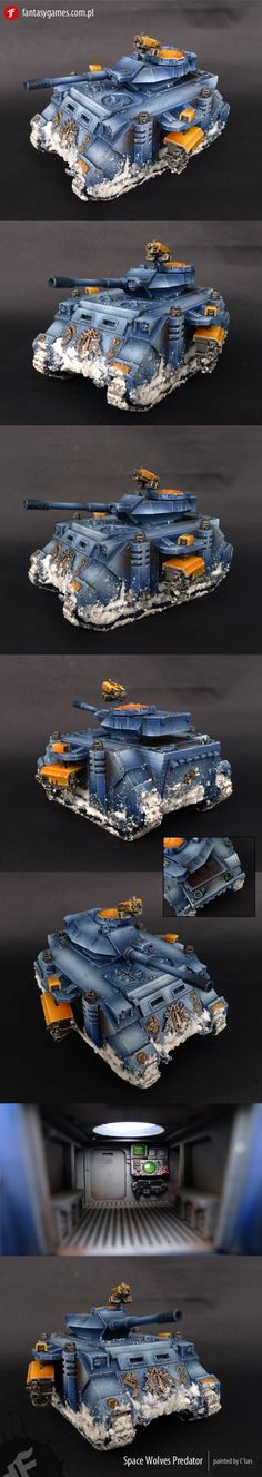 Space Wolves Predator
