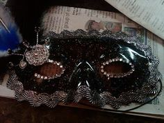 The Tickled Herring: How to Make a Masquerade Mask