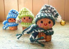 Elves, pimp up your corks. Moji-Moji Design Blog