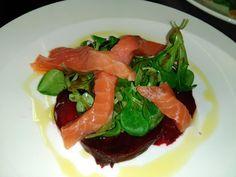 #salade #saumon #betterave et #mache #restaurant #comptoirmarguery #paris #inparis #paris13 #culinary #homemade #brasserie #bistrot #food